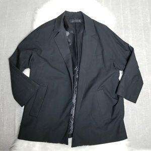 ZARA - Classic black 3/4 sleeve blazer